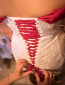 Robe de mariée deux en un